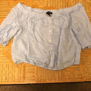 Forever 21 short button-up